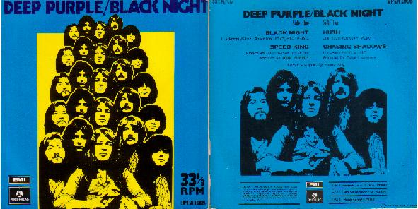 Deep Purple 7 inch Black Night 331/3 rpm!!!